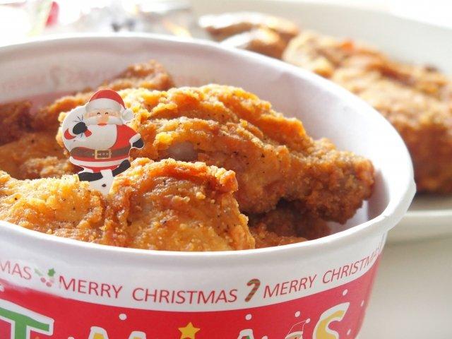 クリスマスパーティ,フライドチキン&鶏のから揚げ