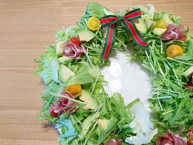 クリスマスパーティ,サラダ料理