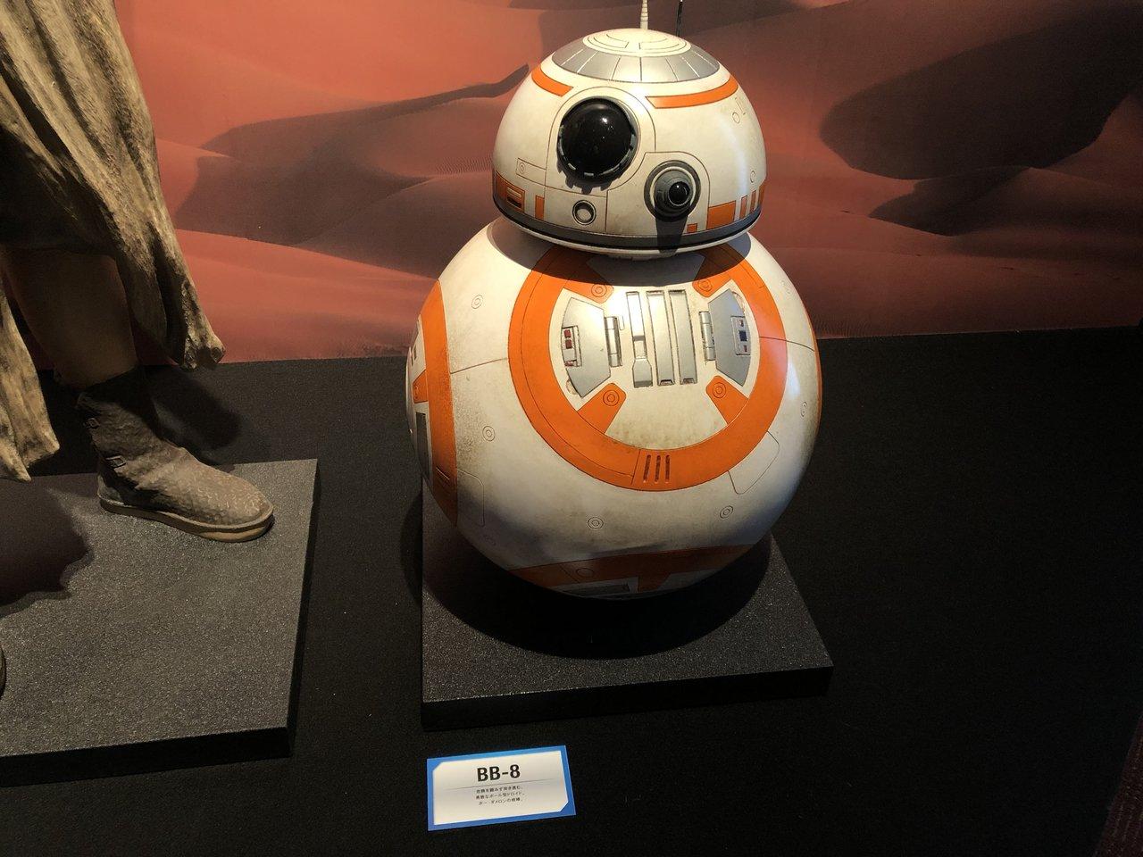 BB-8,最後のスター・ウォーズ展