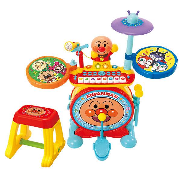 アンパンマン,ノリノリライブ♪BIG電子ドラム&キーボード
