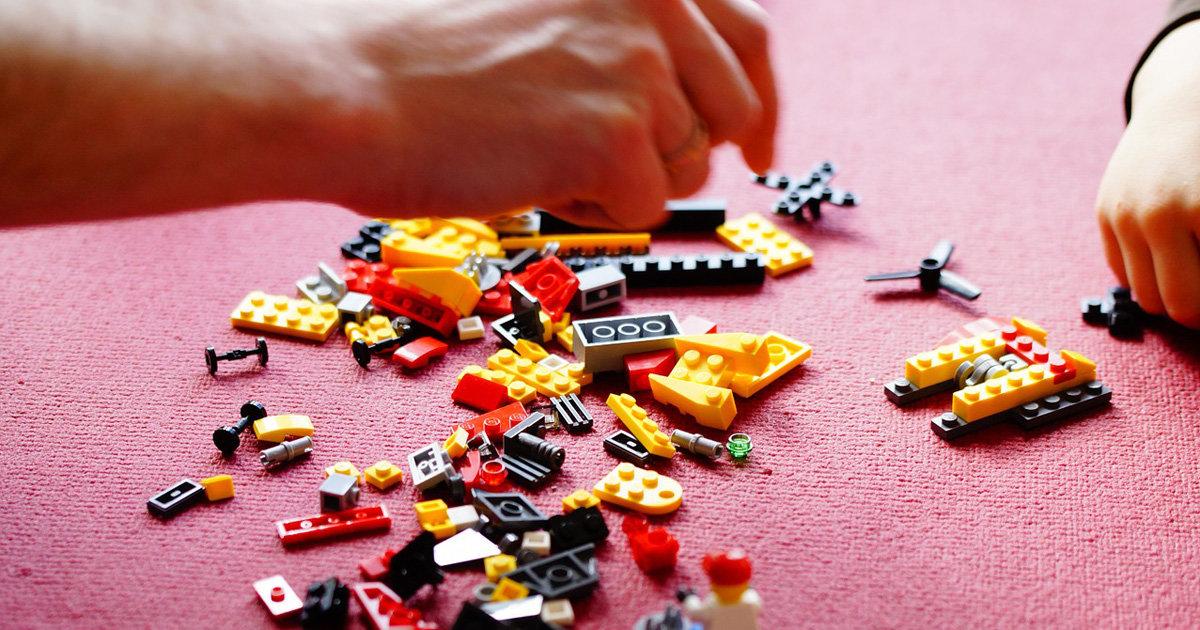 親子の趣味,レゴブロック