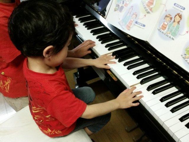 親子の趣味,楽器演奏