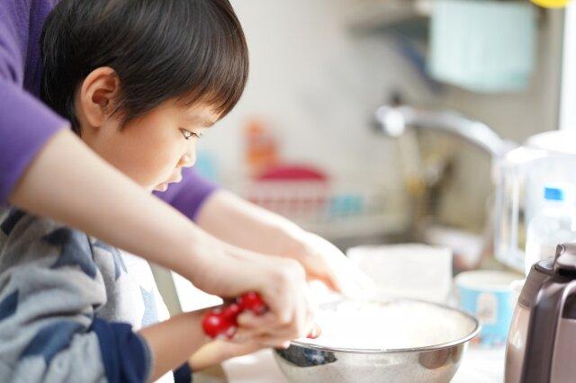 夏休み,親子料理教室