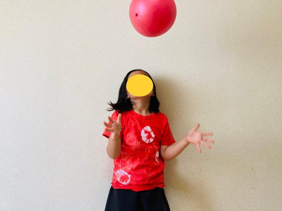 協応性,ボール遊び