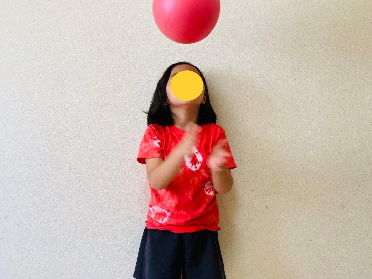 運動能力,ボール遊び
