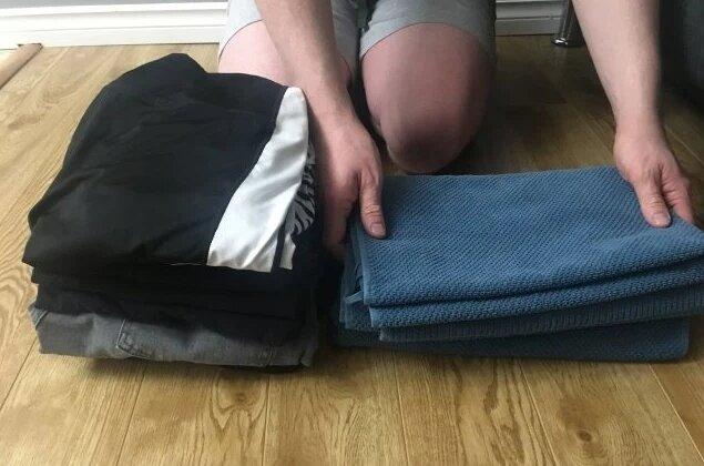 洗濯物,干すたたむ