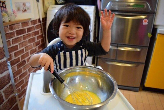 子ども,料理