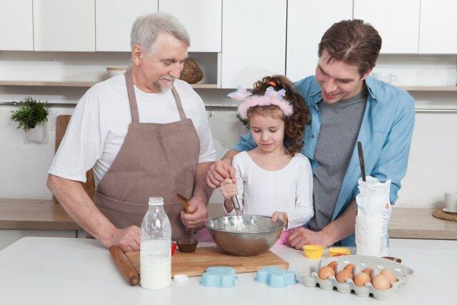 親子料理,子育て