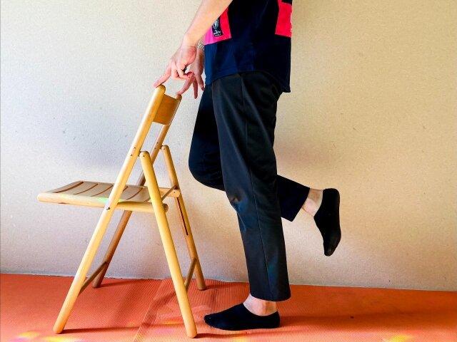 椅子トレーニング,カーフレイズ