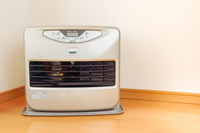 寝室の暖房器具,ファンヒーター