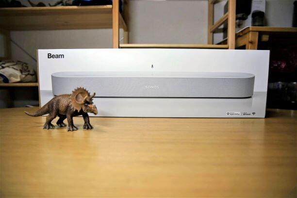 Sonos TV用サウンドバー「Sonos Beam」