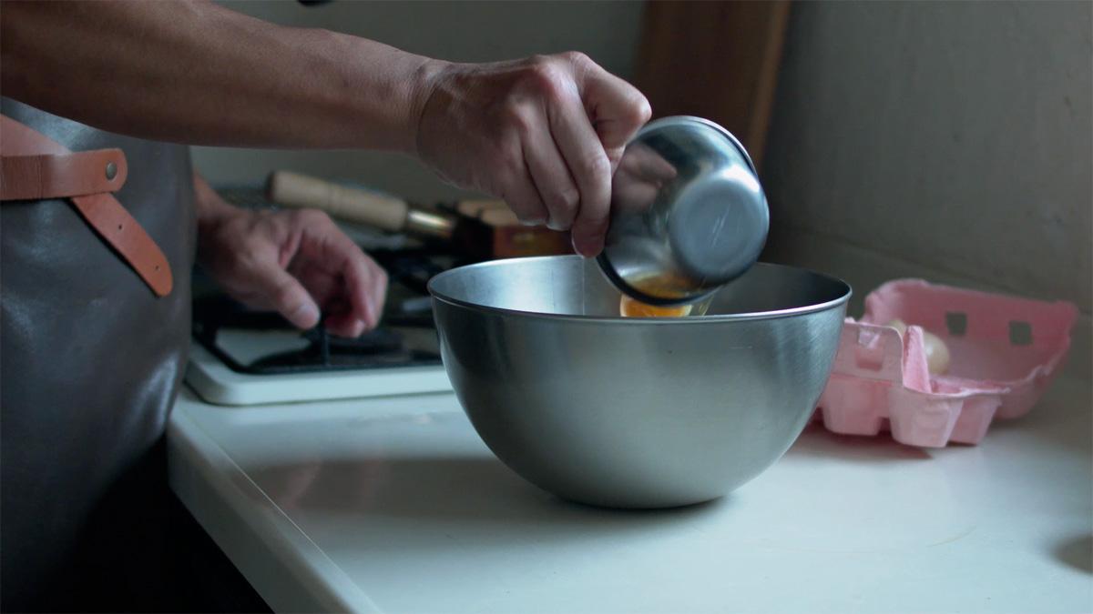 家men,料理道具,第2回,玉子焼き器,工程1