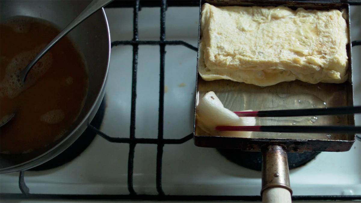 家men,料理道具,第2回,玉子焼き器,工程7