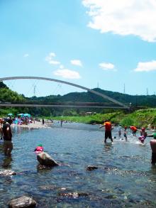 家men,ココフル,秋川橋河川公園