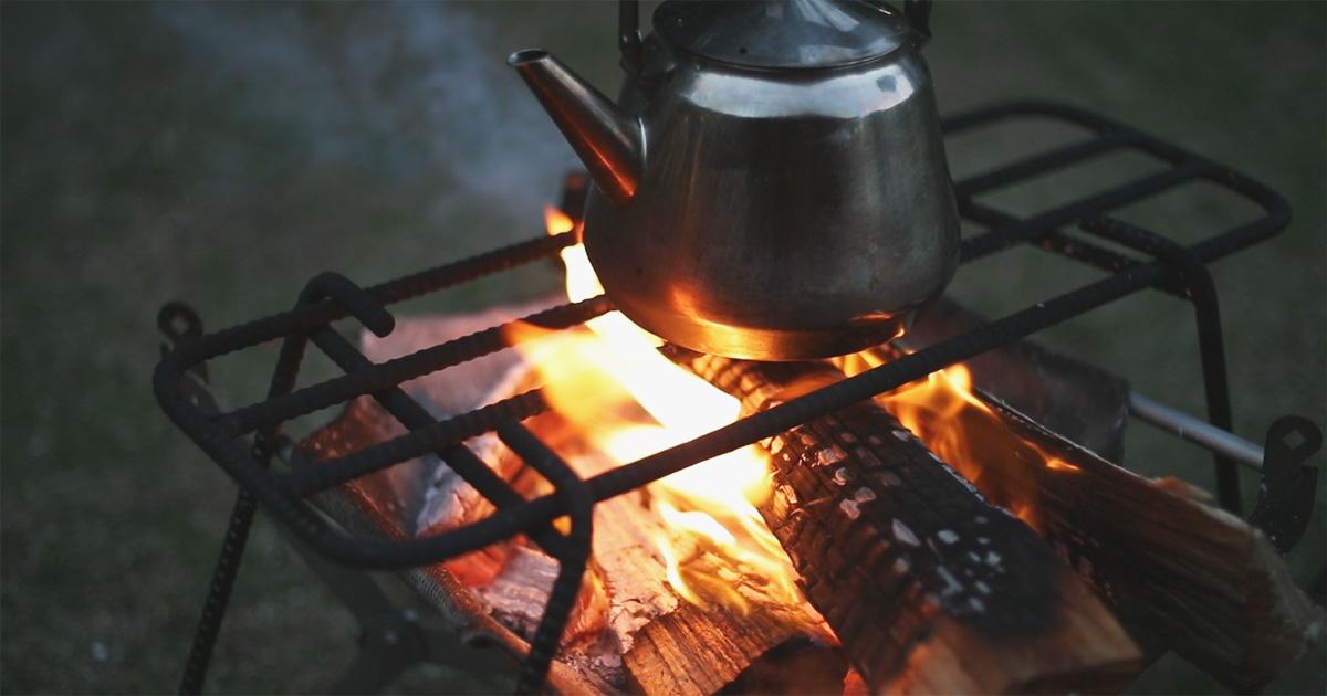 家men,荒井,料理道具,キャンプ,チキングリルサンド