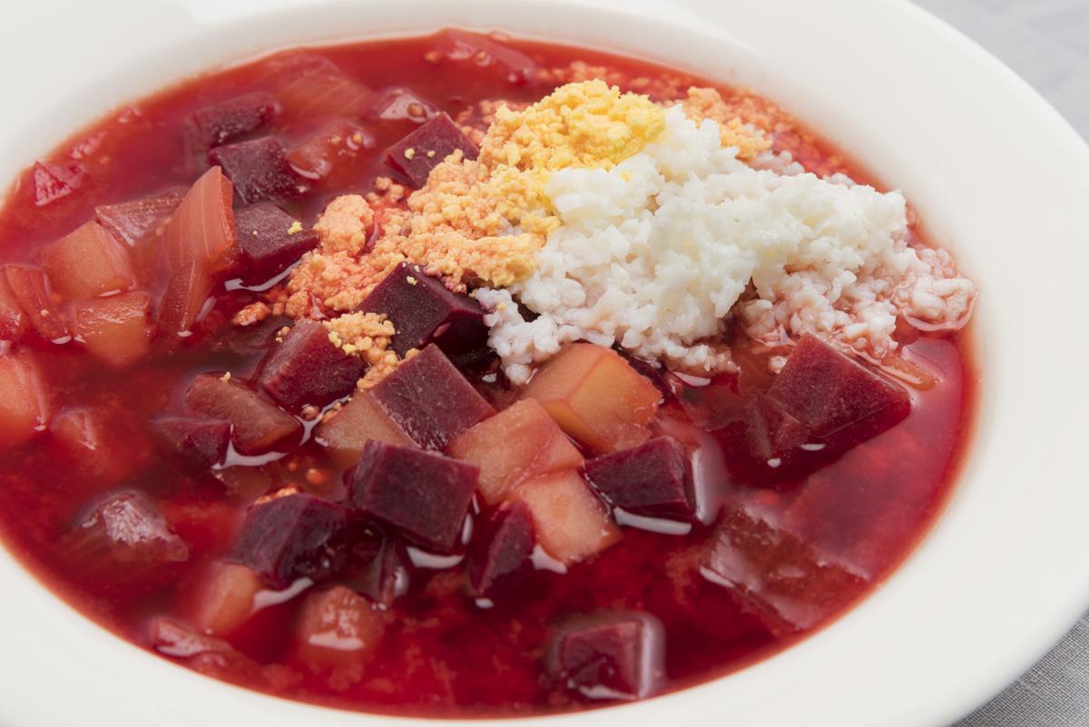 ミソド,YGM,みそ汁,ビーツのミソスープ,レシピ,家men