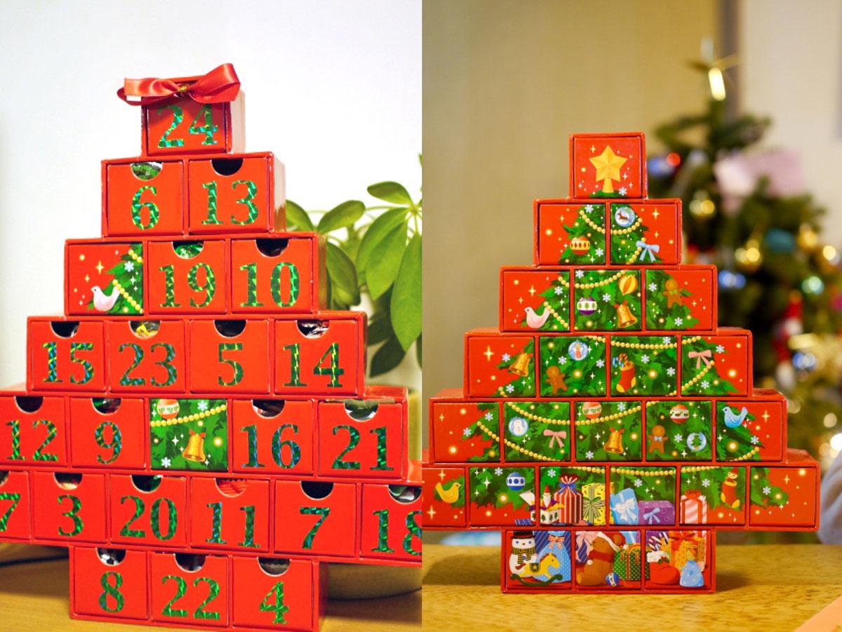 クリスマス,アドベントカレンダー,家men