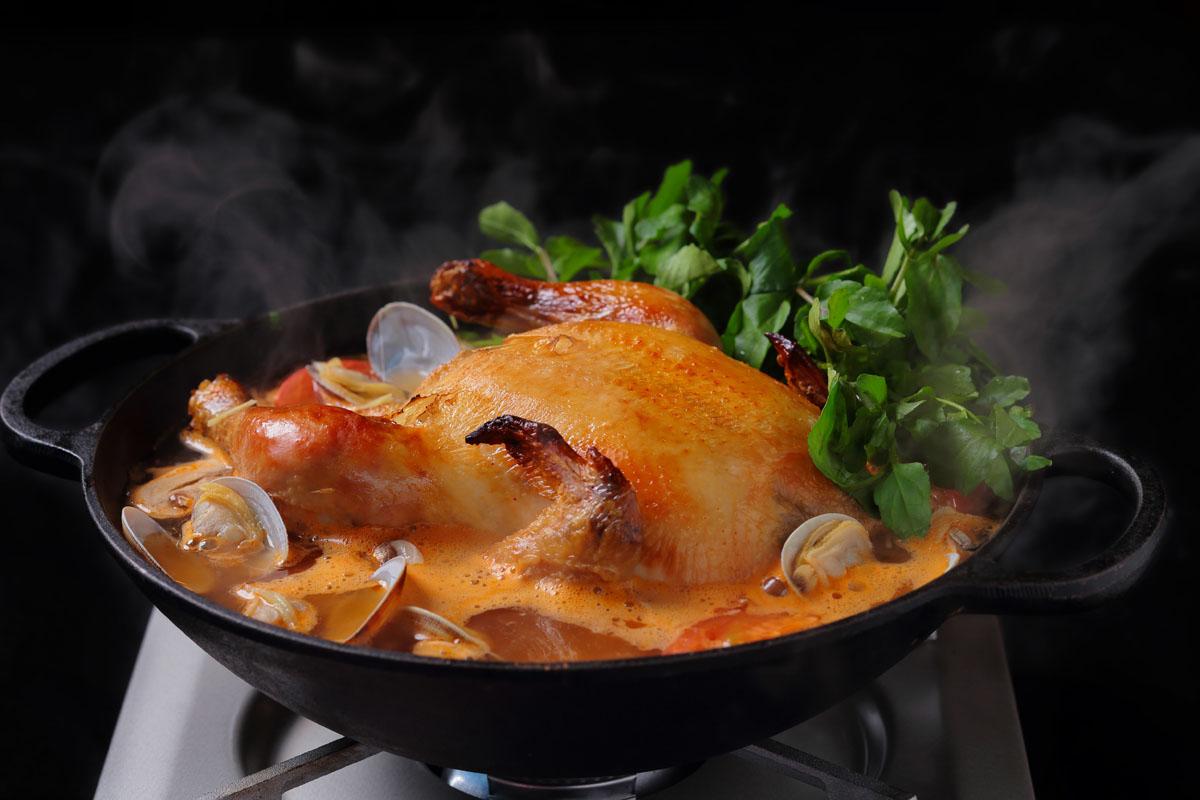 冬,あったかグルメ,フリフリチキン鍋,アロハアミーゴ,家men