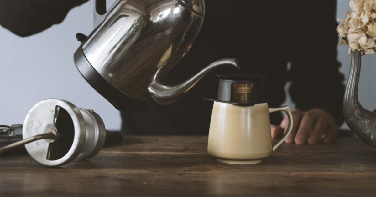 コーヒー,道具,CORES(コレス ),シングルカップゴールドフィルター,家men