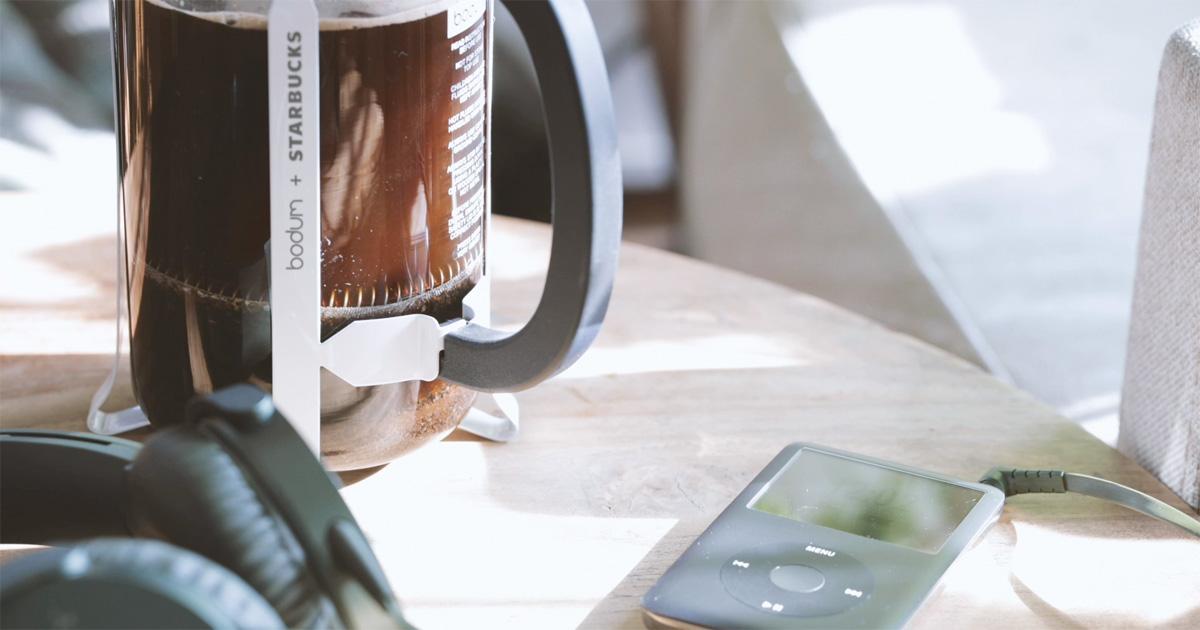 コーヒー,道具,bodum(ボダム)x スターバックス 限定コラボ商品,フレンチプレス,家men