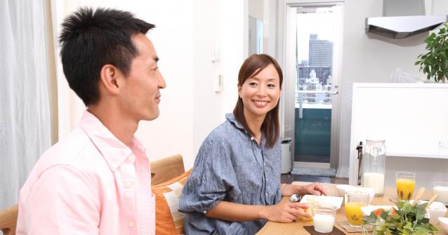 夫婦,コミュニケーション,会話,感情,事務連絡,家men