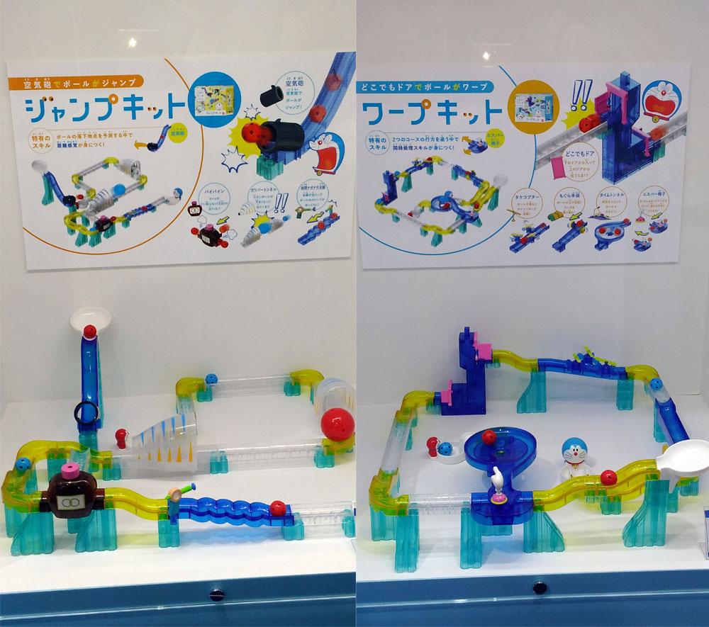 東京おもちゃショー,ころがスイッチ ドラえもん,プログラミング,家men