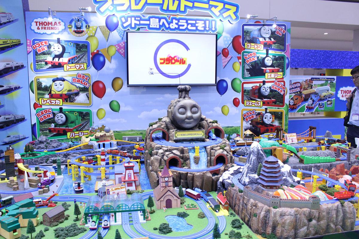 東京おもちゃショー,きかんしゃトーマス,家men