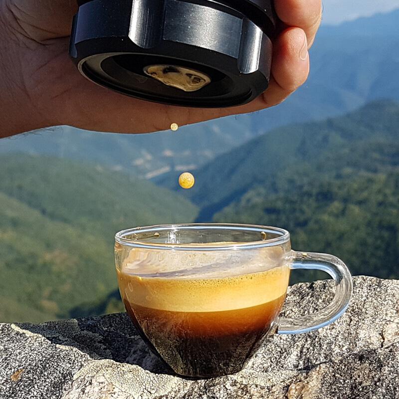 OFFROAD COFFEE,オフロードコーヒー,アウトドア,コーヒー,ポータブルエスプレッソメーカー