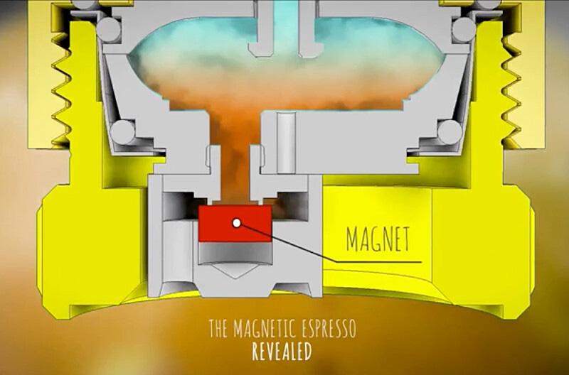 OFFROAD COFFEE,オフロードコーヒー,アウトドア,コーヒー,ポータブルエスプレッソメーカー,磁気バルブ構造