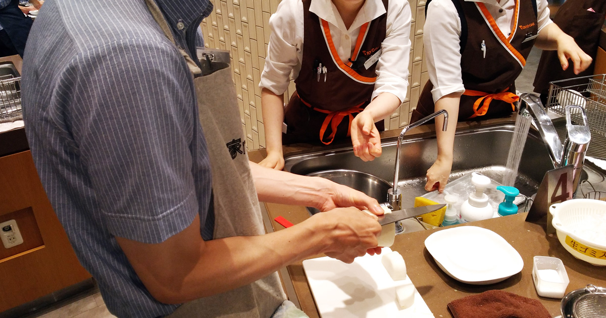 パパ,東京ガス,料理教室,男だけの厨房,家men