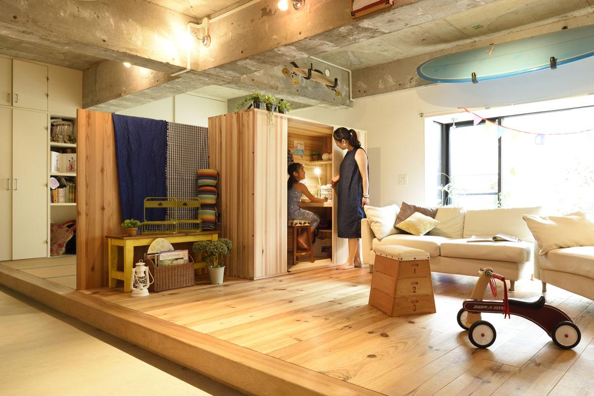 家men,箱の間,三菱地所ホーム,子ども部屋