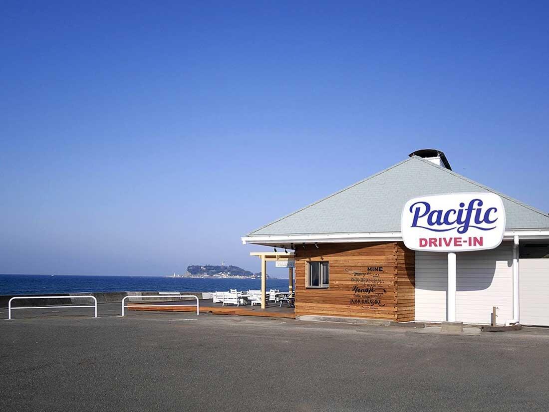 Pacific DRIVE-IN 七里ヶ浜と江の島