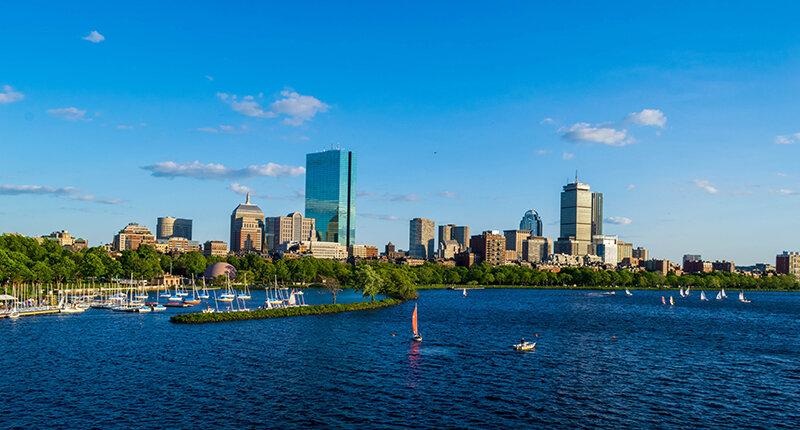 ボストン・チャールズ川のイメージフォト
