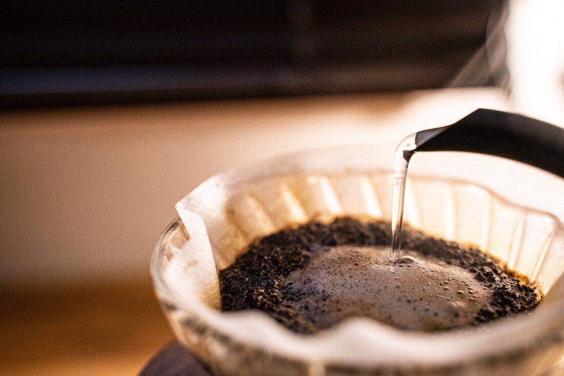 喫茶店のコーヒーのイメージ