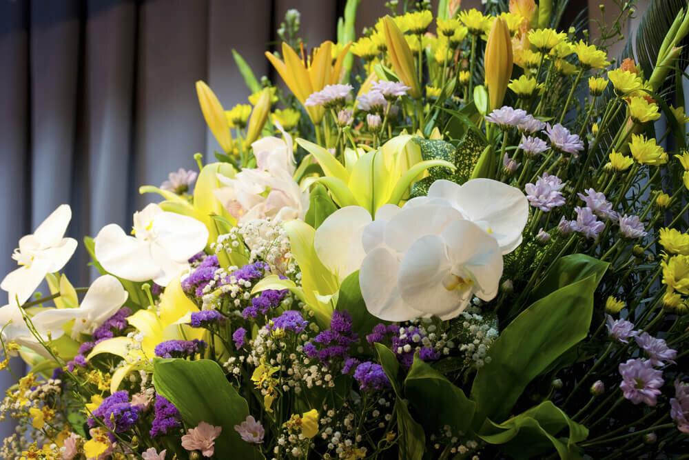 立派な供花