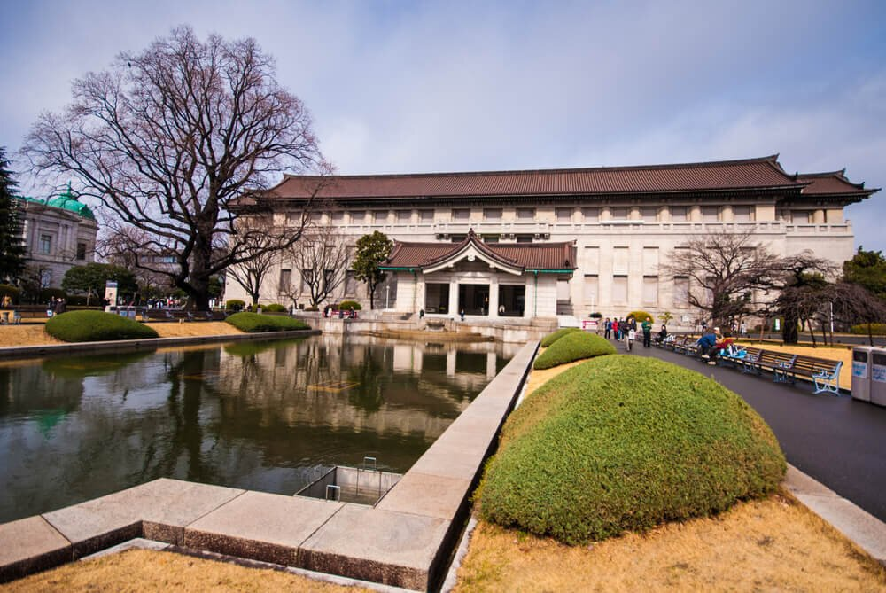 東京国立博物館の全景