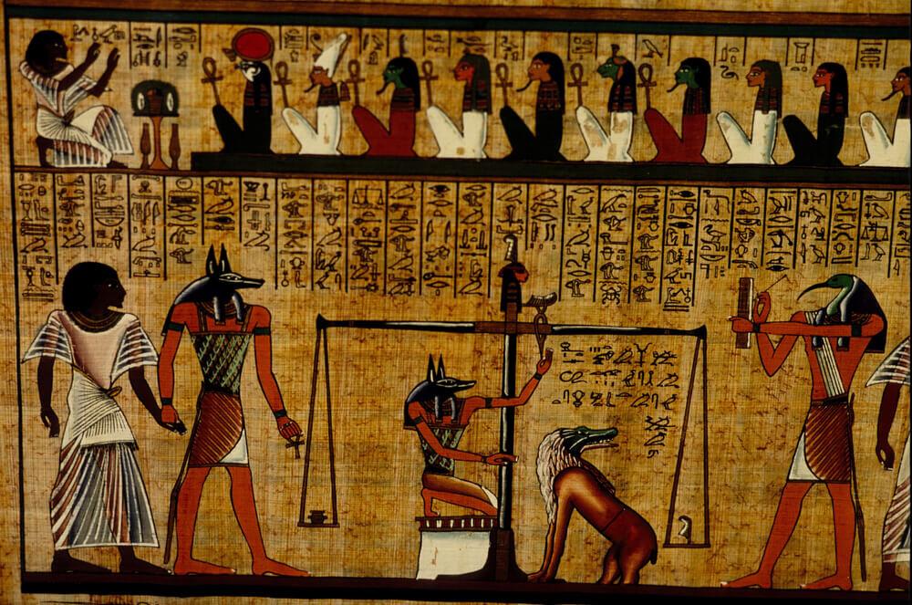 古代エジプトの死者の書