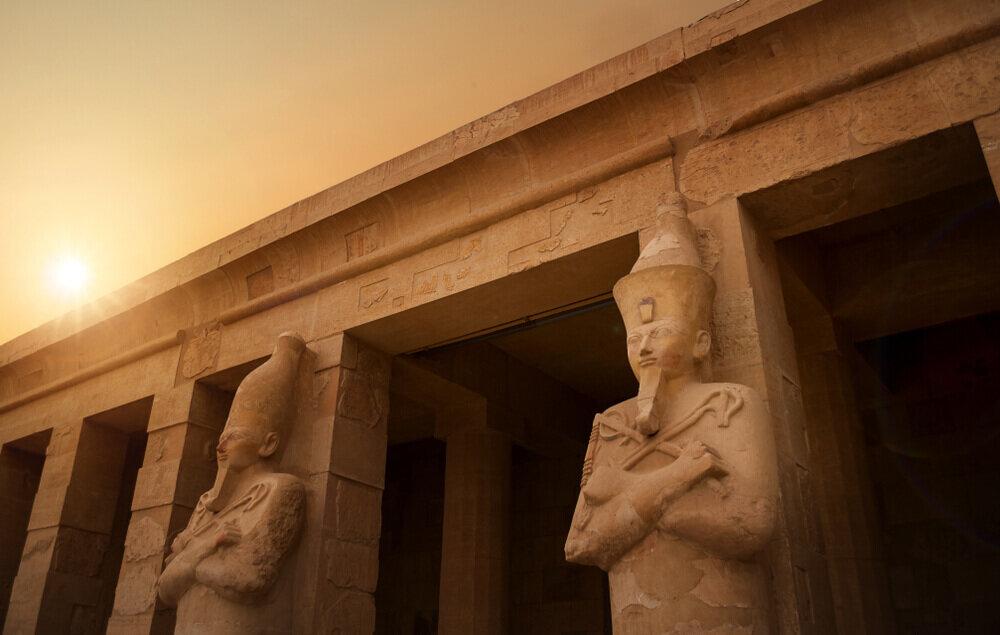 エジプトの神殿
