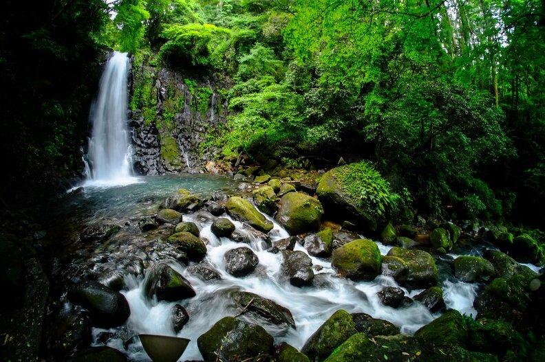 阿蘇の白糸の滝
