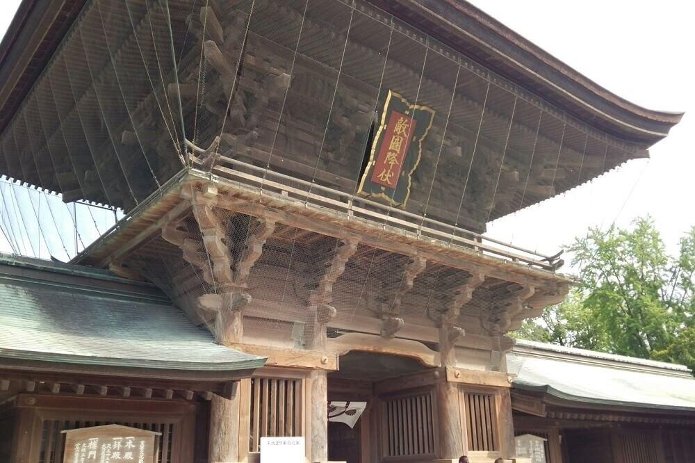 筥崎宮の楼門