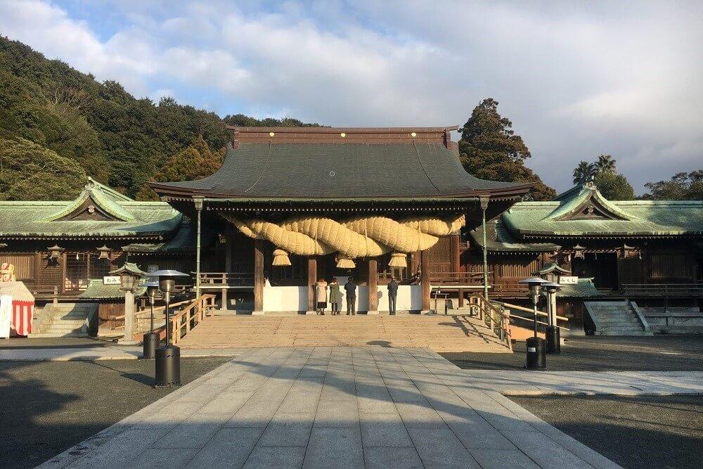 宮地嶽神社の境内