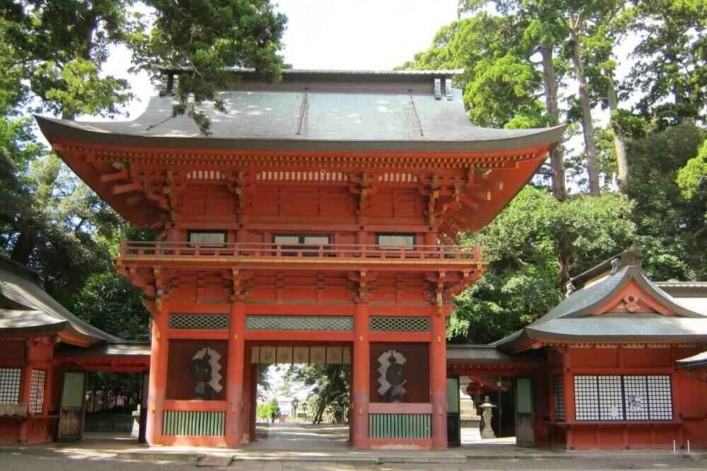 鹿島神宮の門