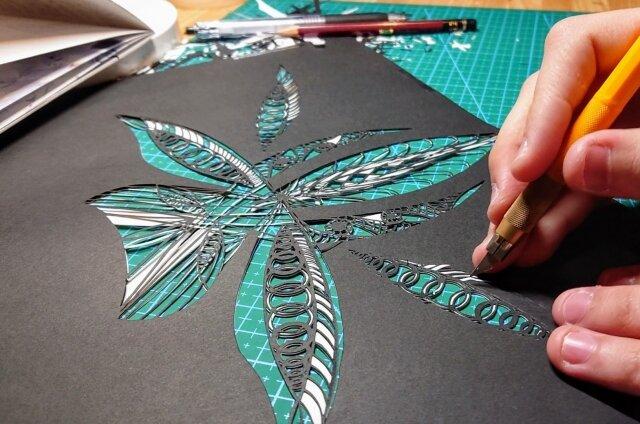 簡単にできる趣味「切り絵」を始めてみたい方へ