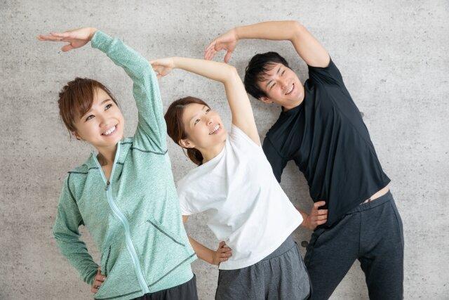 初めての体操!適度に体を動かして健康になろう