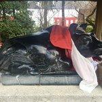 【京都】北野天満宮に行ってきました!撫で牛と水占みくじで「学業成就」「合格祈願」✨