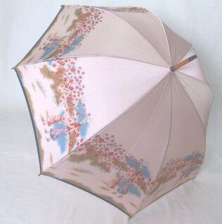 レディース・ウィメンズ日本製 高級傘 ほぐし織り (4586)