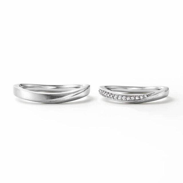 U字ラインが美しいフェスタリアの結婚指輪