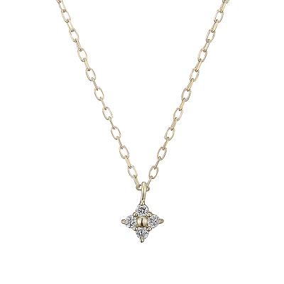 フェスタリアのイエローゴールドダイヤモンドネックレス