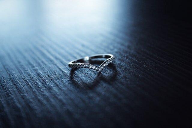 キュービックジルコニアの指輪