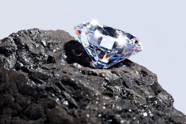 石炭の上のダイヤモンド